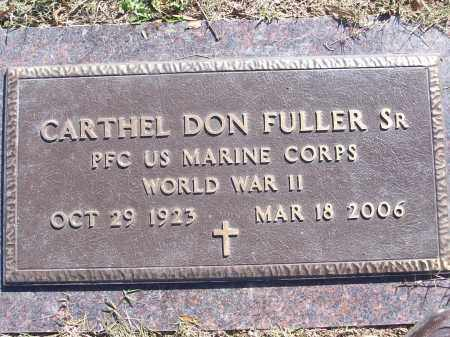 FULLER, SR (VETERAN WWII), CARTHEL DON - White County, Arkansas | CARTHEL DON FULLER, SR (VETERAN WWII) - Arkansas Gravestone Photos