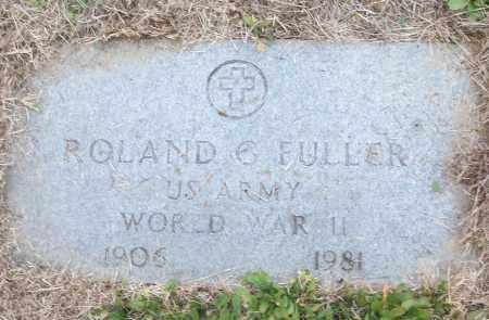FULLER (VETERAN WWII), ROLAND G - White County, Arkansas | ROLAND G FULLER (VETERAN WWII) - Arkansas Gravestone Photos