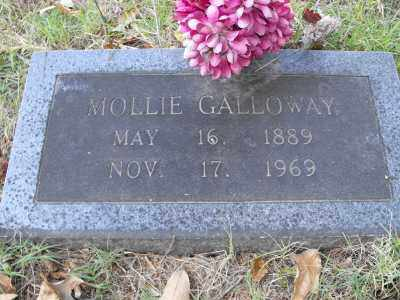 GALLOWAY, MOLLIE - White County, Arkansas | MOLLIE GALLOWAY - Arkansas Gravestone Photos