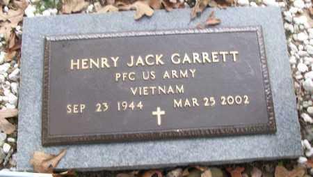 GARRETT  (VETERAN VIET), HENRY JACK - White County, Arkansas | HENRY JACK GARRETT  (VETERAN VIET) - Arkansas Gravestone Photos