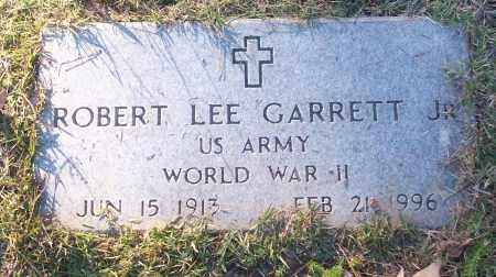 GARRETT, JR (VETERAN WWII), ROBERT LEE - White County, Arkansas | ROBERT LEE GARRETT, JR (VETERAN WWII) - Arkansas Gravestone Photos