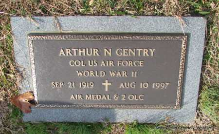 GENTRY  (VETERAN WWII), ARTHUR NEWTON - White County, Arkansas | ARTHUR NEWTON GENTRY  (VETERAN WWII) - Arkansas Gravestone Photos