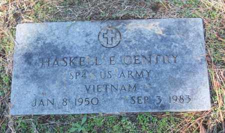GENTRY (VETERAN VIET), HASKELL E - White County, Arkansas | HASKELL E GENTRY (VETERAN VIET) - Arkansas Gravestone Photos
