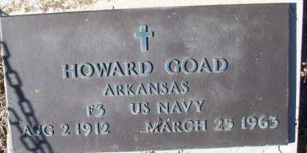 GOAD (VETERAN), HOWARD - White County, Arkansas | HOWARD GOAD (VETERAN) - Arkansas Gravestone Photos