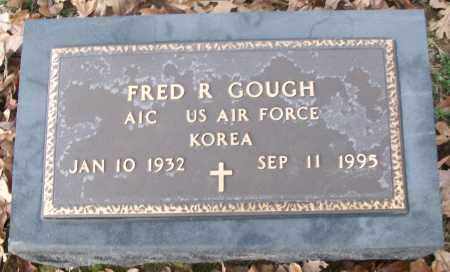 GOUGH  (VETERAN KOR), FRED R. - White County, Arkansas | FRED R. GOUGH  (VETERAN KOR) - Arkansas Gravestone Photos