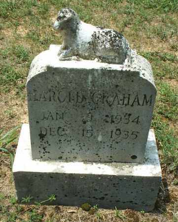GRAHAM, HAROLD - White County, Arkansas | HAROLD GRAHAM - Arkansas Gravestone Photos