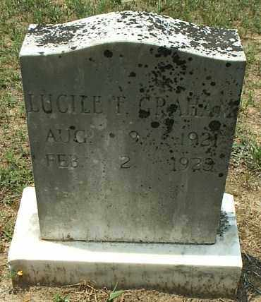 GRAHAM, LUCILE F - White County, Arkansas | LUCILE F GRAHAM - Arkansas Gravestone Photos