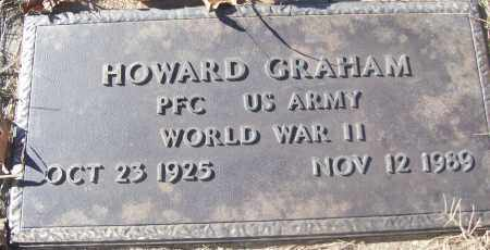 GRAHAM (VETERAN WWII), HOWARD - White County, Arkansas | HOWARD GRAHAM (VETERAN WWII) - Arkansas Gravestone Photos