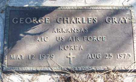 GRAY (VETERAN KOR), GEORGE CHARLES - White County, Arkansas | GEORGE CHARLES GRAY (VETERAN KOR) - Arkansas Gravestone Photos