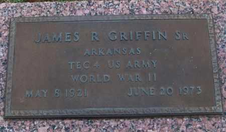 GRIFFIN, SR (VETERAN WWII), JAMES R - White County, Arkansas | JAMES R GRIFFIN, SR (VETERAN WWII) - Arkansas Gravestone Photos