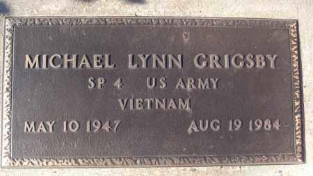 GRIGSBY (VETERAN VIET), MICHAEL LYNN - White County, Arkansas | MICHAEL LYNN GRIGSBY (VETERAN VIET) - Arkansas Gravestone Photos