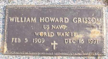 GRISSOM (VETERAN WWII), WILLIAM HOWARD - White County, Arkansas | WILLIAM HOWARD GRISSOM (VETERAN WWII) - Arkansas Gravestone Photos