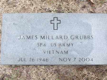 GRUBBS (VETERAN VIET), JAMES MILLARD - White County, Arkansas | JAMES MILLARD GRUBBS (VETERAN VIET) - Arkansas Gravestone Photos