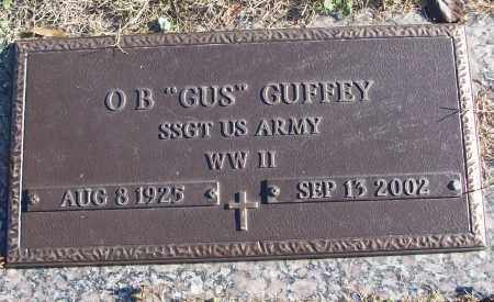 "GUFFEY (VETERAN WWII), O B ""GUS"" - White County, Arkansas 