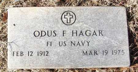 HAGAR (VETERAN), ODUS F - White County, Arkansas | ODUS F HAGAR (VETERAN) - Arkansas Gravestone Photos