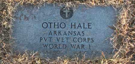 HALE (VETERAN WWI), OTHO - White County, Arkansas | OTHO HALE (VETERAN WWI) - Arkansas Gravestone Photos