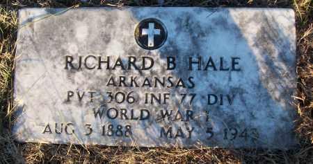 HALE (VETERAN WWI), RICHARD B - White County, Arkansas | RICHARD B HALE (VETERAN WWI) - Arkansas Gravestone Photos