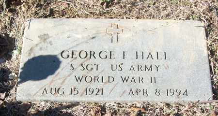 HALL (VETERAN WWII), GEORGE F - White County, Arkansas | GEORGE F HALL (VETERAN WWII) - Arkansas Gravestone Photos