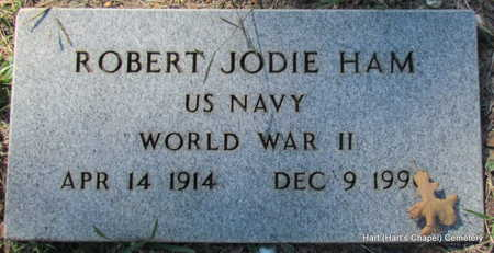 HAM (VETERAN WWII), ROBERT JODIE - White County, Arkansas | ROBERT JODIE HAM (VETERAN WWII) - Arkansas Gravestone Photos