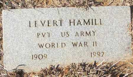 HAMILL (VETERAN WWII), LEVERT - White County, Arkansas | LEVERT HAMILL (VETERAN WWII) - Arkansas Gravestone Photos
