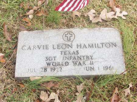 HAMILTON  (VETERAN WWII), CARVIE LEON - White County, Arkansas | CARVIE LEON HAMILTON  (VETERAN WWII) - Arkansas Gravestone Photos