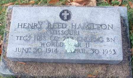 HAMILTON  (VETERAN WWII), HENRY REED - White County, Arkansas | HENRY REED HAMILTON  (VETERAN WWII) - Arkansas Gravestone Photos