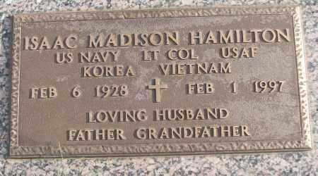 HAMILTON (VETERAN 2 WARS), ISAAC MADISON - White County, Arkansas | ISAAC MADISON HAMILTON (VETERAN 2 WARS) - Arkansas Gravestone Photos