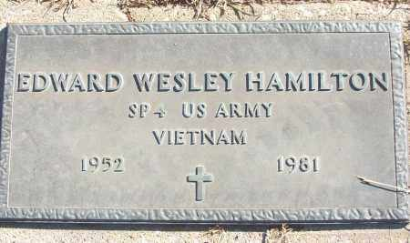 HAMILTON (VETERAN VIET), EDWARD WESLEY - White County, Arkansas | EDWARD WESLEY HAMILTON (VETERAN VIET) - Arkansas Gravestone Photos