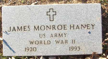 HANEY (VETERAN WWII), JAMES MONROE - White County, Arkansas | JAMES MONROE HANEY (VETERAN WWII) - Arkansas Gravestone Photos