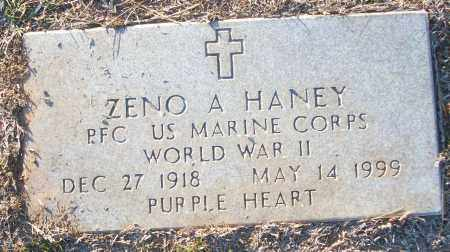 HANEY (VETERAN WWII), ZENO A - White County, Arkansas | ZENO A HANEY (VETERAN WWII) - Arkansas Gravestone Photos