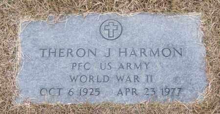 HARMON (VETERAN WWII), THERON J - White County, Arkansas | THERON J HARMON (VETERAN WWII) - Arkansas Gravestone Photos