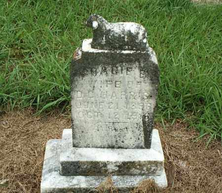 BLOYD HARRIS, GRACIE B. - White County, Arkansas | GRACIE B. BLOYD HARRIS - Arkansas Gravestone Photos
