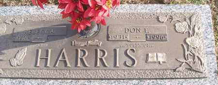 HARRIS (VETERAN 2 WARS), DON E - White County, Arkansas | DON E HARRIS (VETERAN 2 WARS) - Arkansas Gravestone Photos