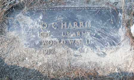 HARRIS (VETERAN WWII), O C - White County, Arkansas | O C HARRIS (VETERAN WWII) - Arkansas Gravestone Photos