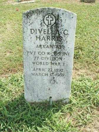 HARRIS (VETERAN WWI), DIVELLA C - White County, Arkansas | DIVELLA C HARRIS (VETERAN WWI) - Arkansas Gravestone Photos