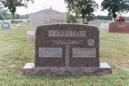 "HARRISON, FRANCES LEE ""FANNIE"" - White County, Arkansas 