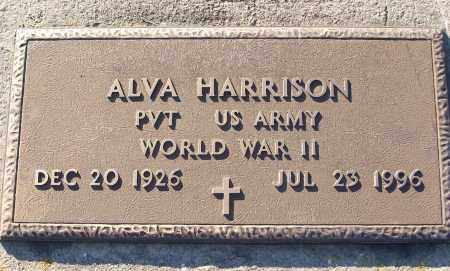 HARRISON (VETERAN WWII), ALVA - White County, Arkansas | ALVA HARRISON (VETERAN WWII) - Arkansas Gravestone Photos