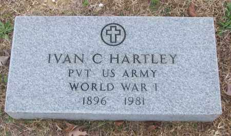 HARTLEY (VETERAN WWI), IVAN C - White County, Arkansas | IVAN C HARTLEY (VETERAN WWI) - Arkansas Gravestone Photos