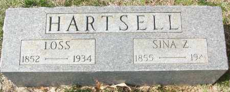 HARTSELL, SINA Z. - White County, Arkansas | SINA Z. HARTSELL - Arkansas Gravestone Photos