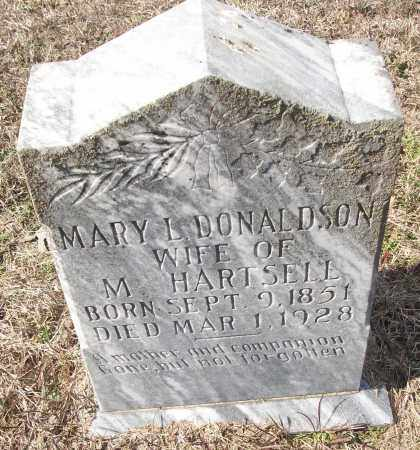 DONALDSON HARTSELL, MARY L. - White County, Arkansas | MARY L. DONALDSON HARTSELL - Arkansas Gravestone Photos