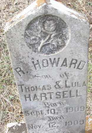 HARTSELL, R. HOWARD - White County, Arkansas | R. HOWARD HARTSELL - Arkansas Gravestone Photos