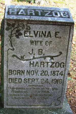 HARTZOG, ELVINA E - White County, Arkansas | ELVINA E HARTZOG - Arkansas Gravestone Photos