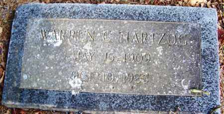 HARTZOG, WARREN C - White County, Arkansas | WARREN C HARTZOG - Arkansas Gravestone Photos
