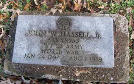 HASSELL, JR  (VETERAN WWI), JOHN W - White County, Arkansas | JOHN W HASSELL, JR  (VETERAN WWI) - Arkansas Gravestone Photos