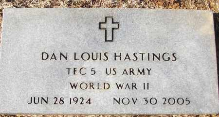 HASTINGS (VETERAN WWII), DAN LOUIS - White County, Arkansas | DAN LOUIS HASTINGS (VETERAN WWII) - Arkansas Gravestone Photos