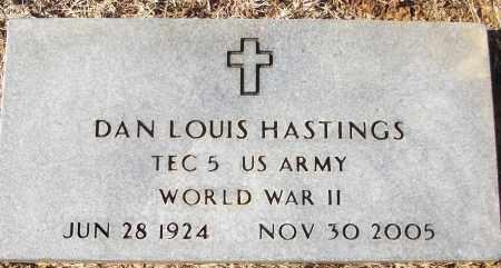 HASTINGS (VETERAN WWII), DAN LOUIS - White County, Arkansas | DAN LOUIS HASTINGS (VETERAN WWII) - Arkansas Gravestone Photos