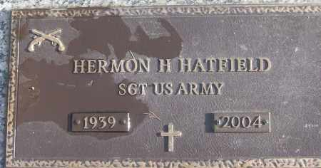 HATFIELD (VETERAN), HERMON H - White County, Arkansas | HERMON H HATFIELD (VETERAN) - Arkansas Gravestone Photos