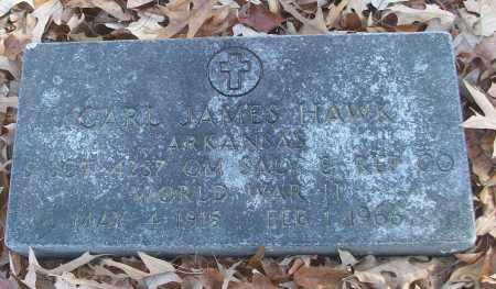 HAWK (VETERAN WWII), CARL JAMES - White County, Arkansas | CARL JAMES HAWK (VETERAN WWII) - Arkansas Gravestone Photos