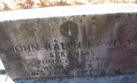 HAWLEY (VETERAN WWII), JOHN RALPH - White County, Arkansas | JOHN RALPH HAWLEY (VETERAN WWII) - Arkansas Gravestone Photos