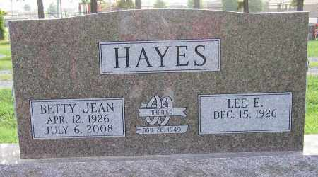 HAYES, BETTY JEAN - White County, Arkansas | BETTY JEAN HAYES - Arkansas Gravestone Photos